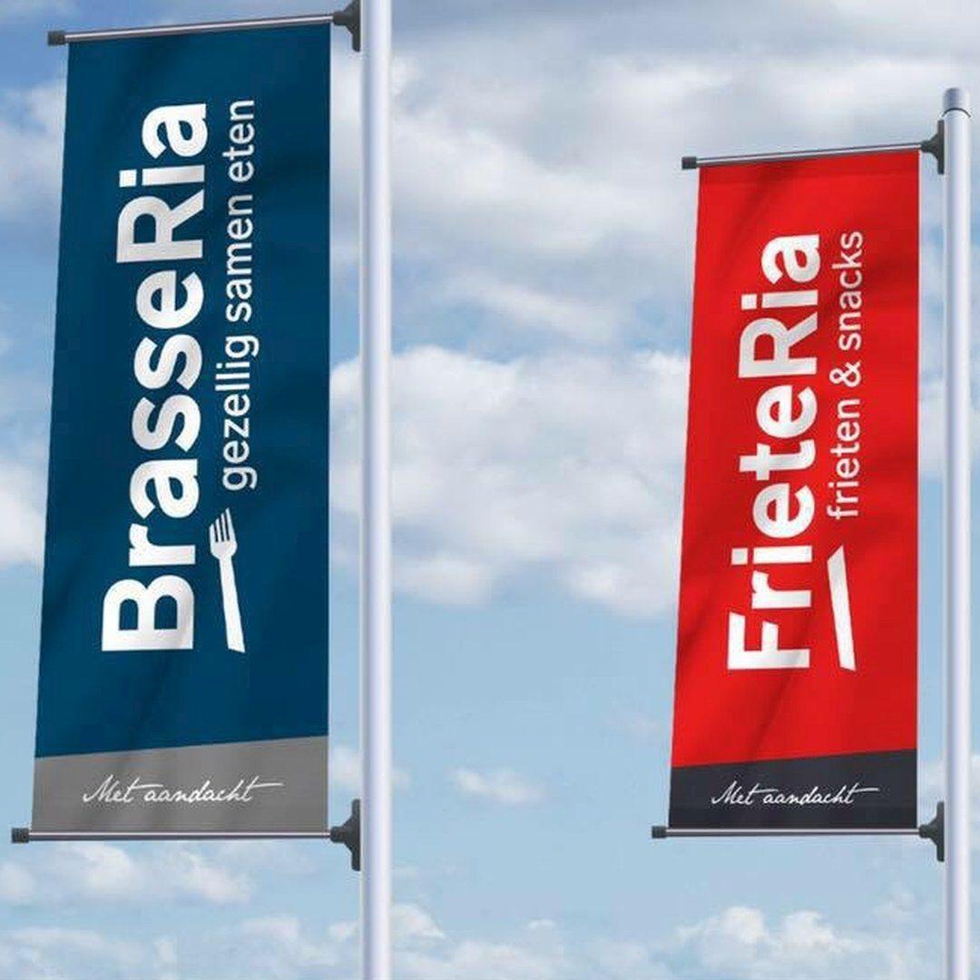Vlaggen BrasseRia FrieteRia Dronten